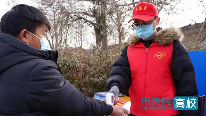 共抗疫情 河北北方学院志愿者在一线