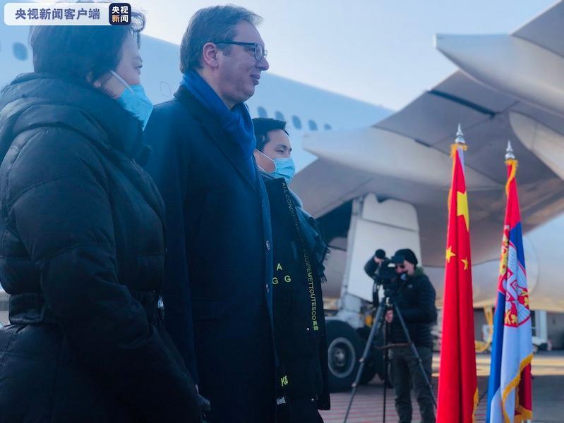 武契奇宣布:将接种中国疫苗