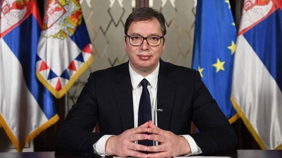 塞尔维亚总统武契奇:已经决定选择接种中国新冠疫苗
