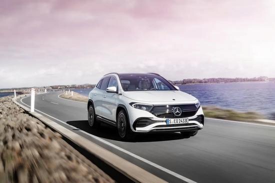 中德两国生产 梅赛德斯-奔驰EQA纯电SUV全球首发