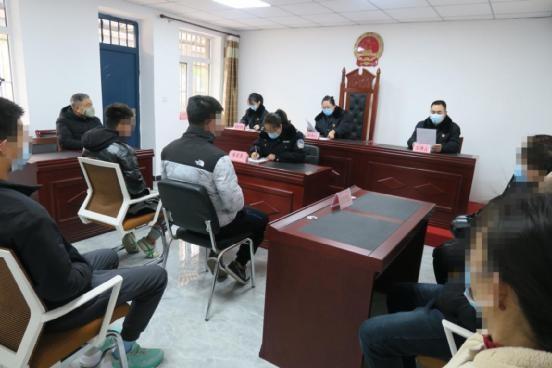 丰润区人民检察院举行附条件不起诉不公开宣告会