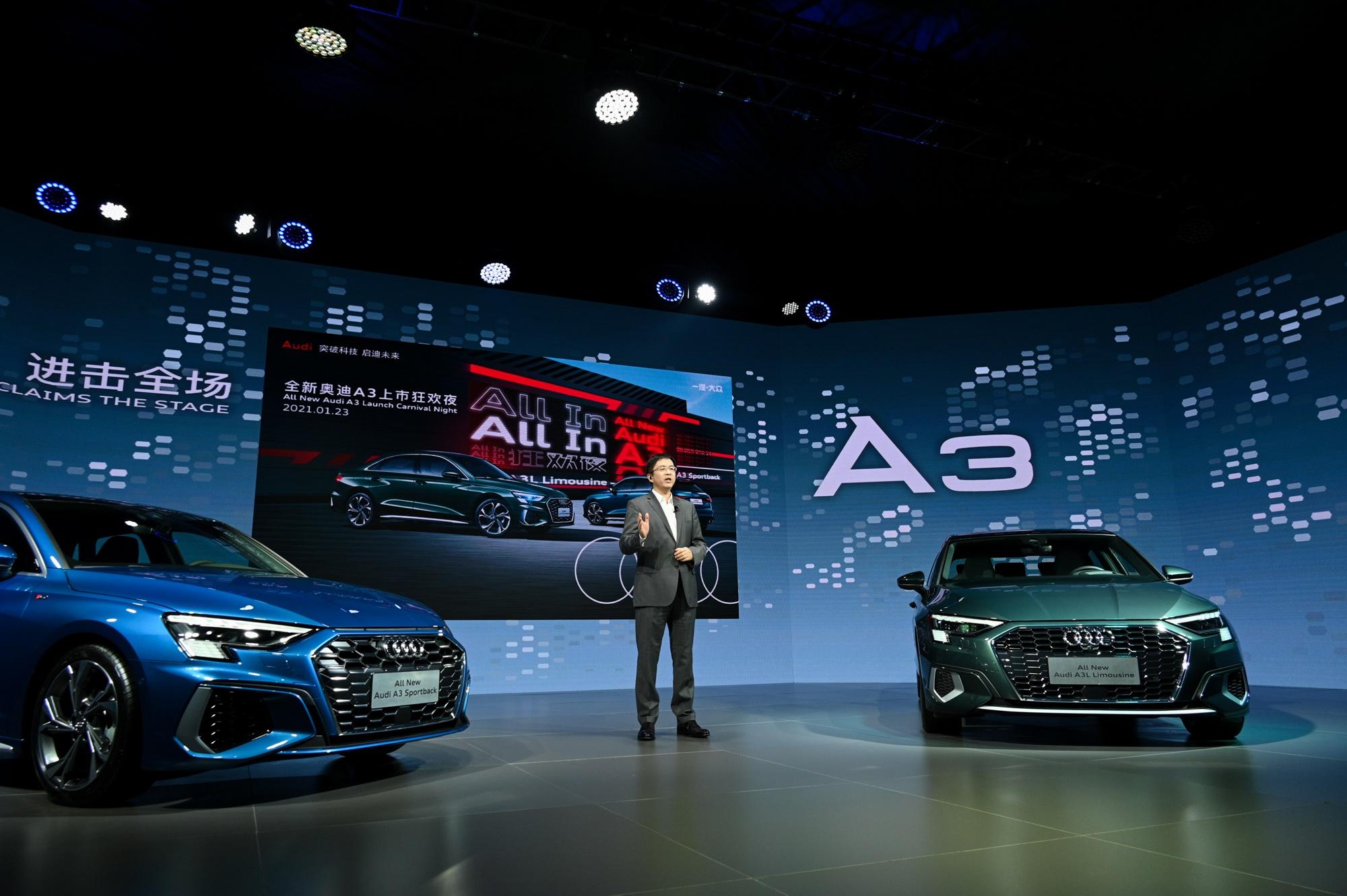 王一博担任奥迪新A3代言人,BBA入门车型之争升级