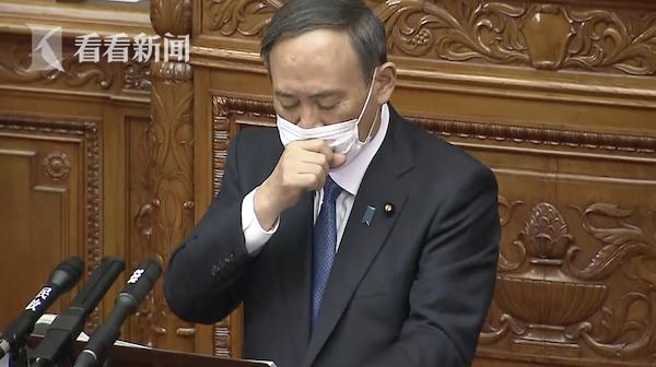 频繁咳嗽声音沙哑 菅义伟回应健康状况:嗓子疼得说不出话