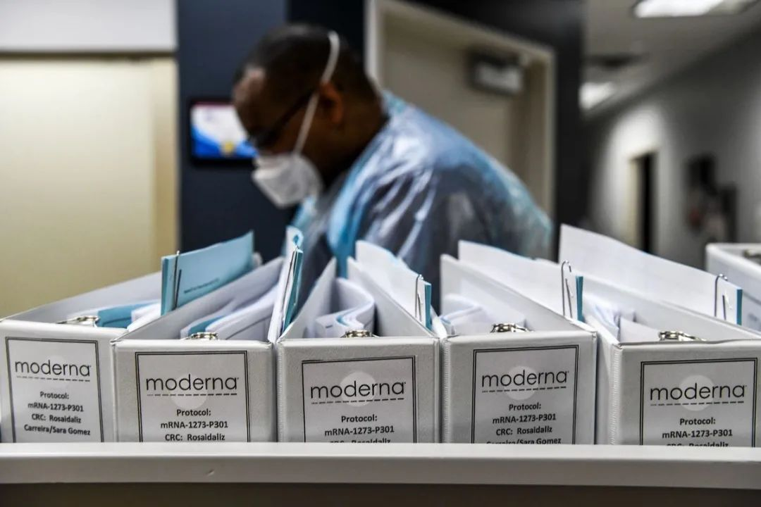 Moderna疫苗对新冠病毒变种无保护作用?