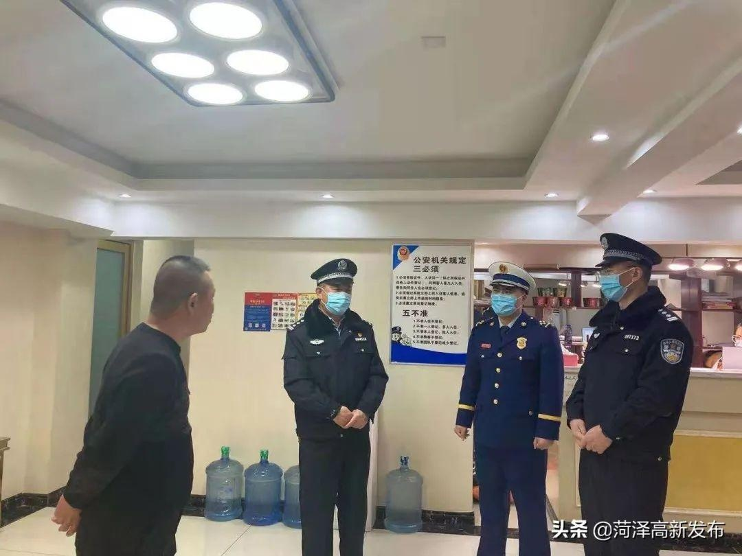 """菏泽市公安局高新区分局:开展治安大清查 全力为""""两会""""护航"""