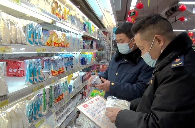 县市场监督管理局开展节前食品药品安全检查