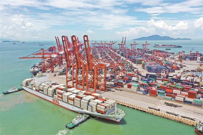 前海蛇口自贸片区外贸逆势增长 去年进出口总值1.2万亿元 同比增长38%