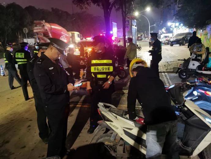 提高群众安全感 | 良庆警方开展打击整治盗窃电动自行车违法犯罪专项行动