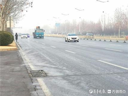 滨州市气象台发布道路结冰黄色预警