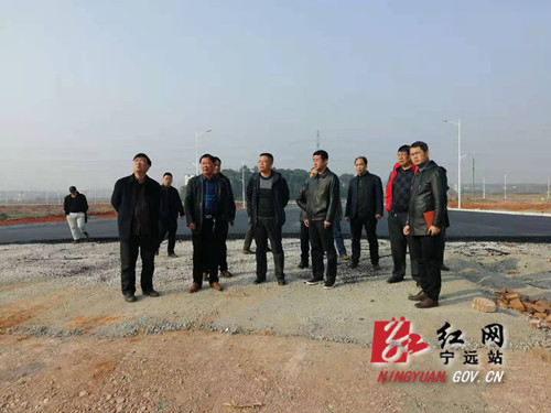 宁远:重华南路、印山西路连接线将在春节前全线开通