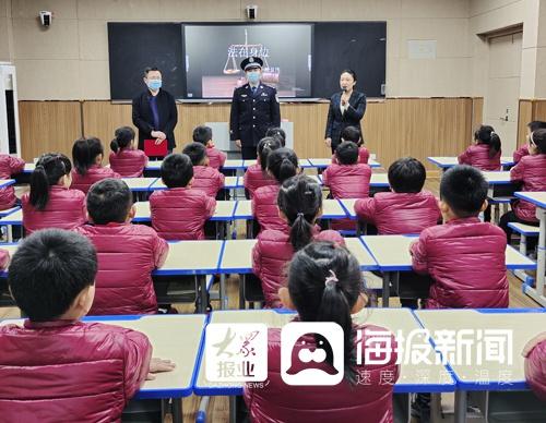 山东青州:圣水学校聘任法制副校长 助推法治进校园