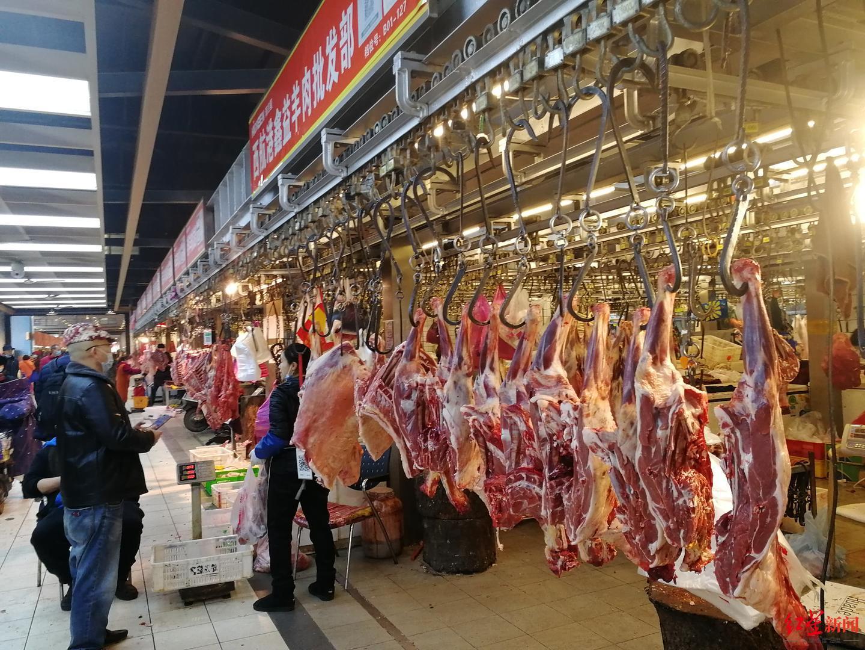实地探访成都农产品批发市场及菜市