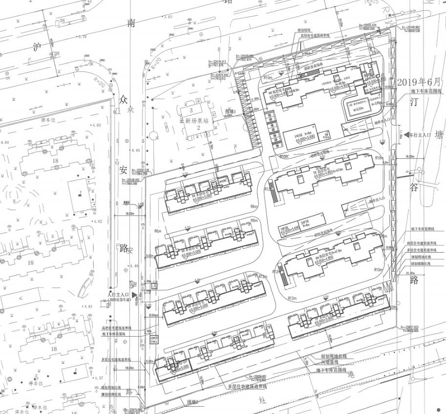 2020年溢价率最高地块设计方案公示 拟建8幢住宅