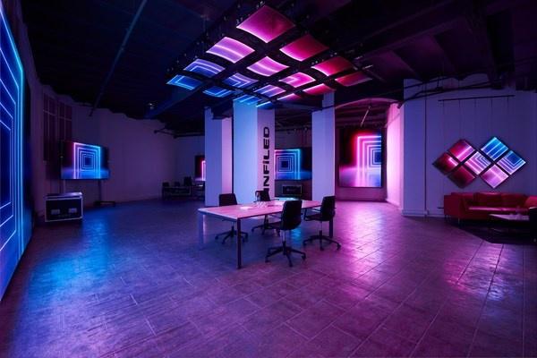 视爵光旭在巴塞罗那开设全新办公室,打造多媒体新视觉数字展示厅