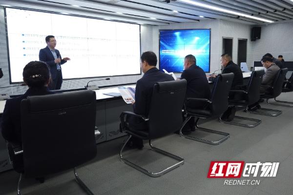 湖南省市场监督管理局调研天河国云公司标准化工作