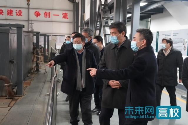 四川省领导调研指导西华大学工作