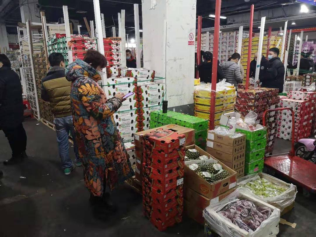 实地探访嘉兴水果批发市场 车厘子靠谱吗?