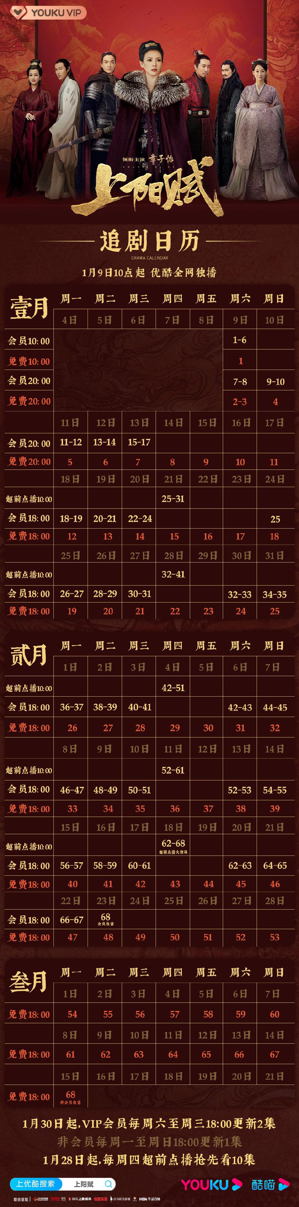 章子怡《上阳赋》加更,2月18日超前点播大结局