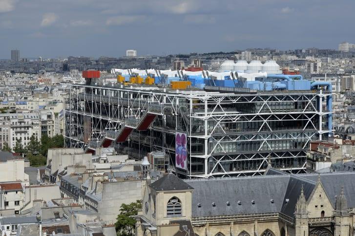 法国蓬皮杜2023年底将闭馆三年,首次进行重大翻修