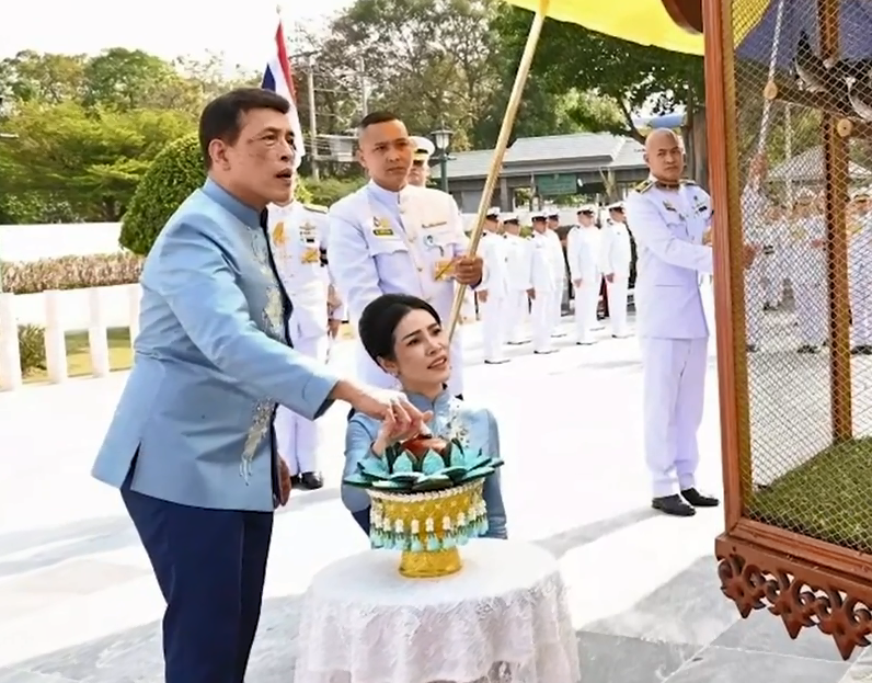 30秒|泰国媒体:王妃诗妮娜被册封皇后的消息不属实
