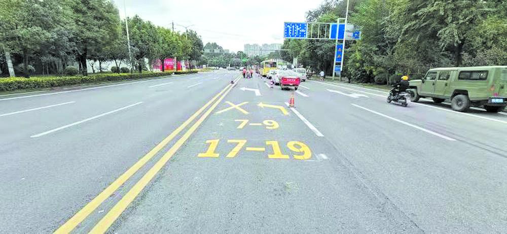 16处交通梗阻点,通了