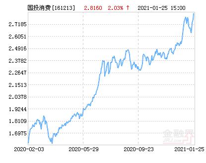 国投瑞银中证消费服务指数(LOF)净值下跌1.85% 请保持关注