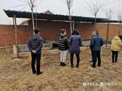 东营经济技术开发区生态环境分局对畜禽规模养殖场进行帮扶检查