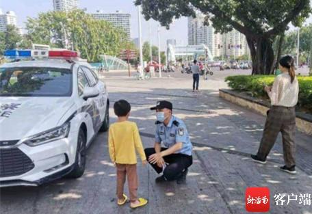 一天两名小孩走失 三亚民警提醒:外出务必看好孩子
