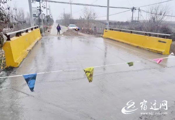 宿迁这一新桥建成后验收不合格,重修
