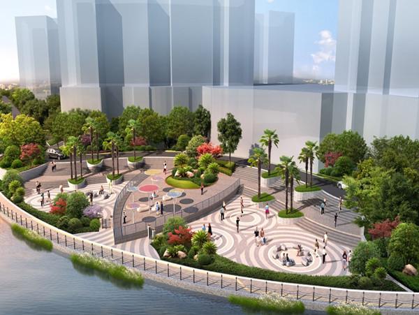 """苏州河沿线综合整治工程(中远两湾城段)今起施工,将着力打造苏州河畔""""普陀样板"""""""