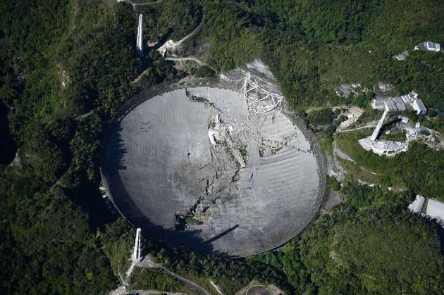 美国将重建阿雷西博射电望远镜,前期投入 800 万美元