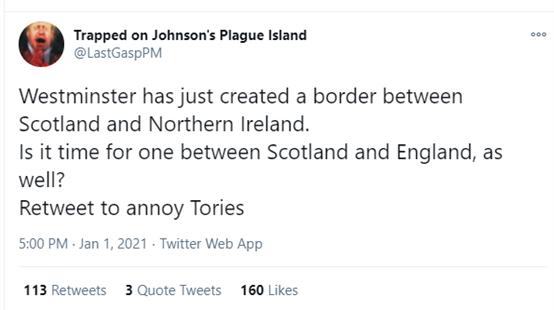 2021才开年,大不列……颠颠颠了!