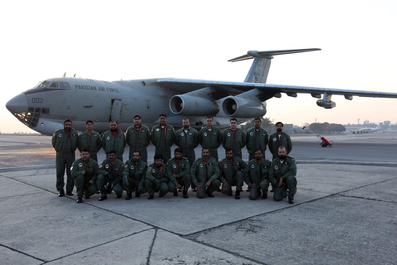 外媒:巴基斯坦空军专机已启程赴北京,运输首批中国疫苗图片