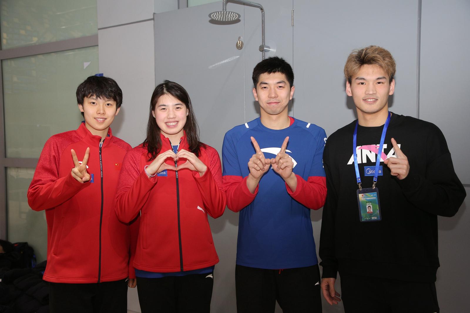 中国游泳争霸赛收官  1500米自由泳李冰洁强势回归