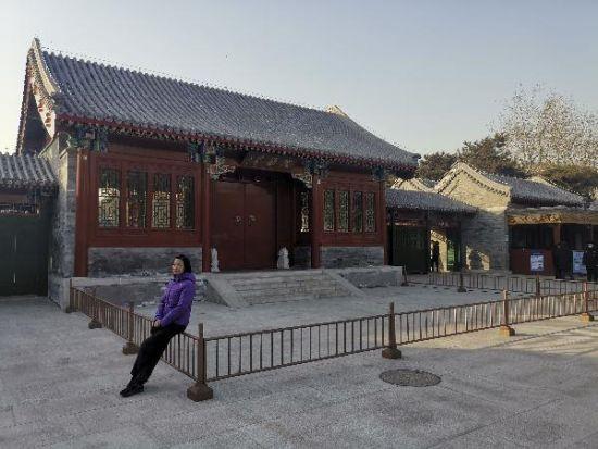 北京陶然亭公园新东门正式投入使用