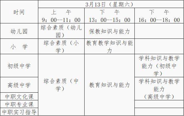 【提醒】1月14日开始网上报名!云南省2021年上半年中小学教师资格考试(笔试)安排→