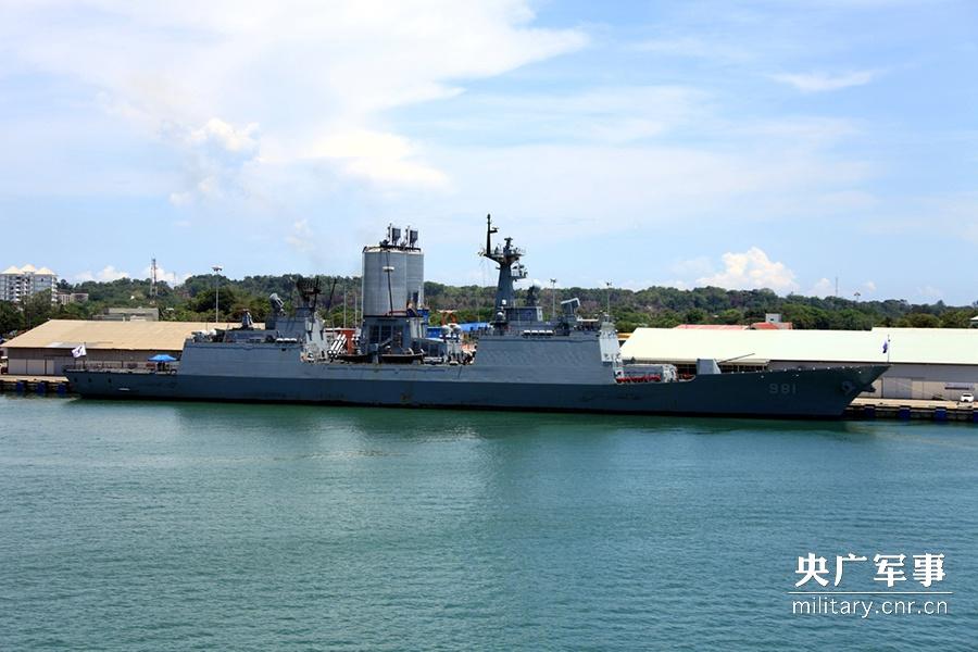 韩军舰抵霍尔木兹海峡附近 应对船只被伊朗扣留事件