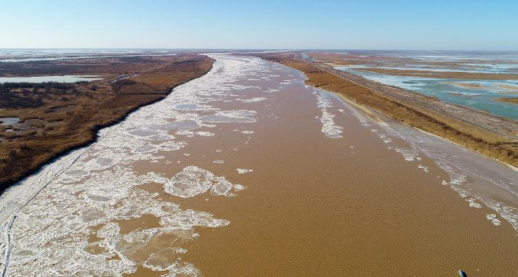 黄河山东段防凌形势严峻,已拆除23座浮桥