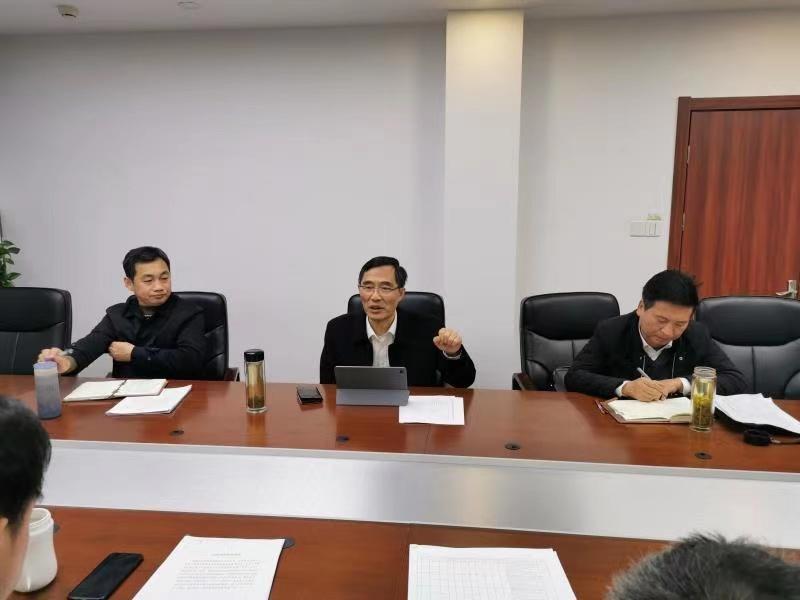 市城管局党组书记、局长李磊专题研究道路塌陷隐患排查工作
