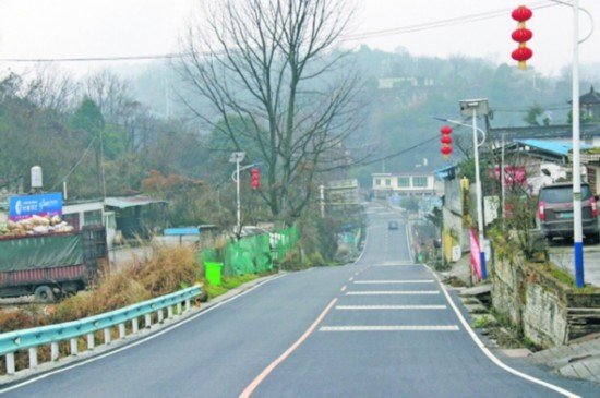 贵安新区X055县道外院至党武路段路面改善工程完工