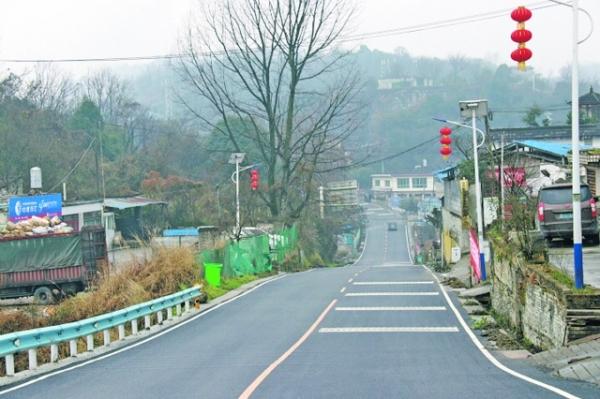 X055县道外院至党武路段 路面改善工程完工