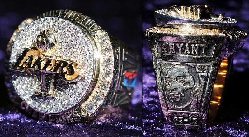 摩登日记 史上最贵的赛季总冠军戒指,藏着NBA对科比的思念