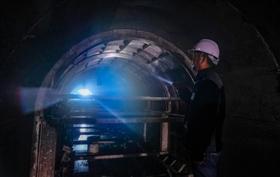 石狮应急水源工程建设冲刺年关 900多米隧洞全线贯通进入混凝土衬砌阶段