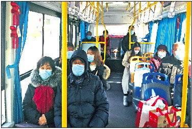 阳信免费公交运行两年半,极大方便市民出行。