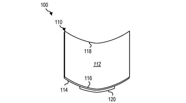 微软新专利曝光:Surface手机将拥有可折叠屏幕