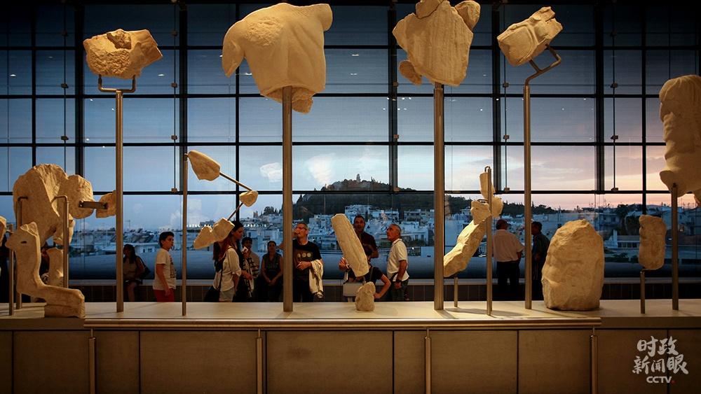 △2019年11月,习近平主席接见希腊,访希的末了一站是雅典卫城博物馆。(资料图)