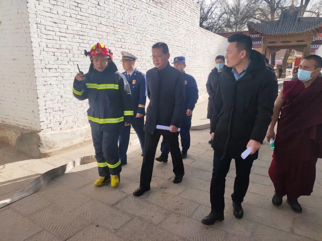 黄南州各级开展宗教活动场所节前消防安全专项检查