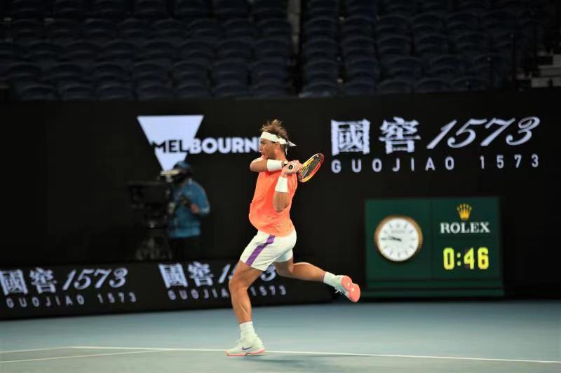 纳达尔横扫对手14次挺进澳网16强,段莹莹混双首轮出局