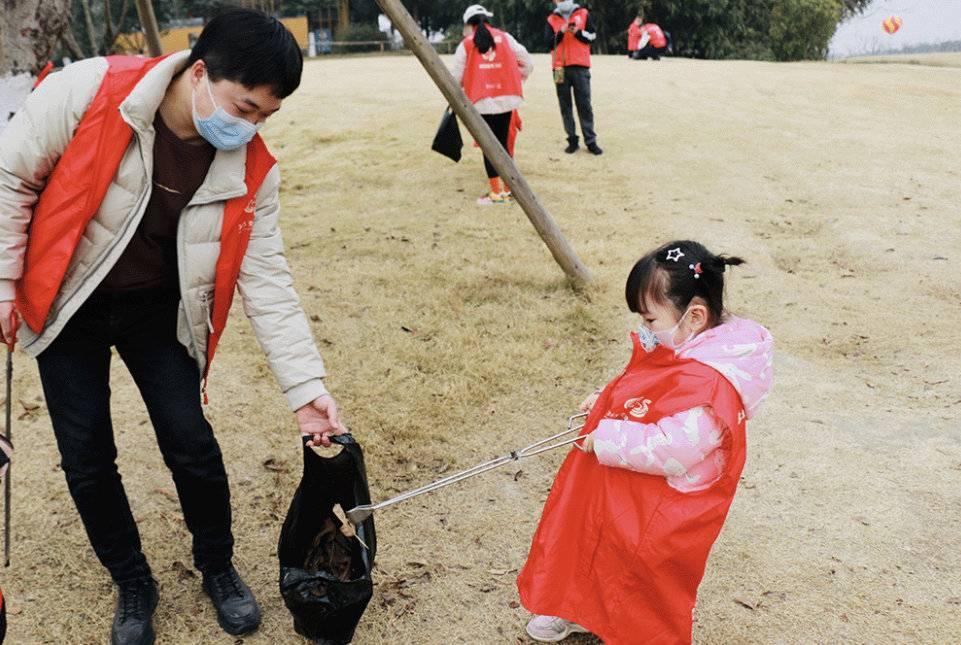 公园里过年 成都锦城公园亲子公益活动迎新春图2
