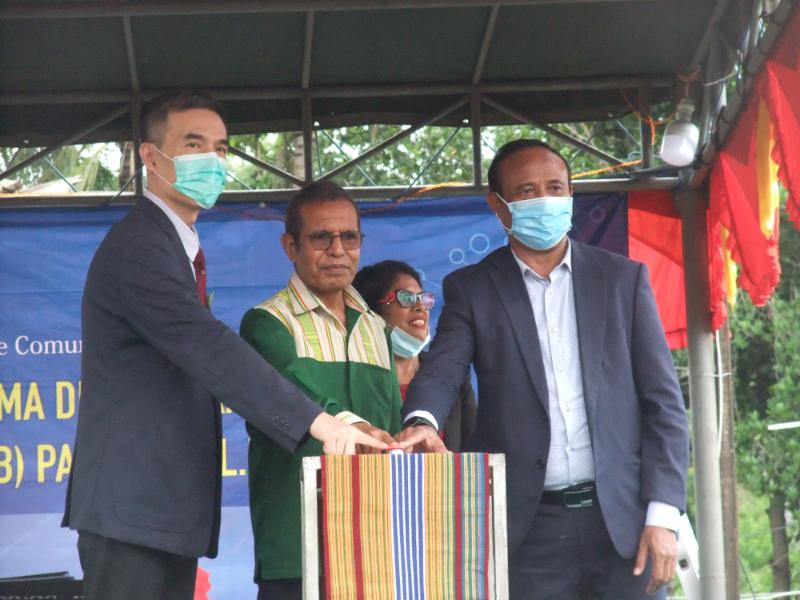 中国援东帝汶数字电视项目启动